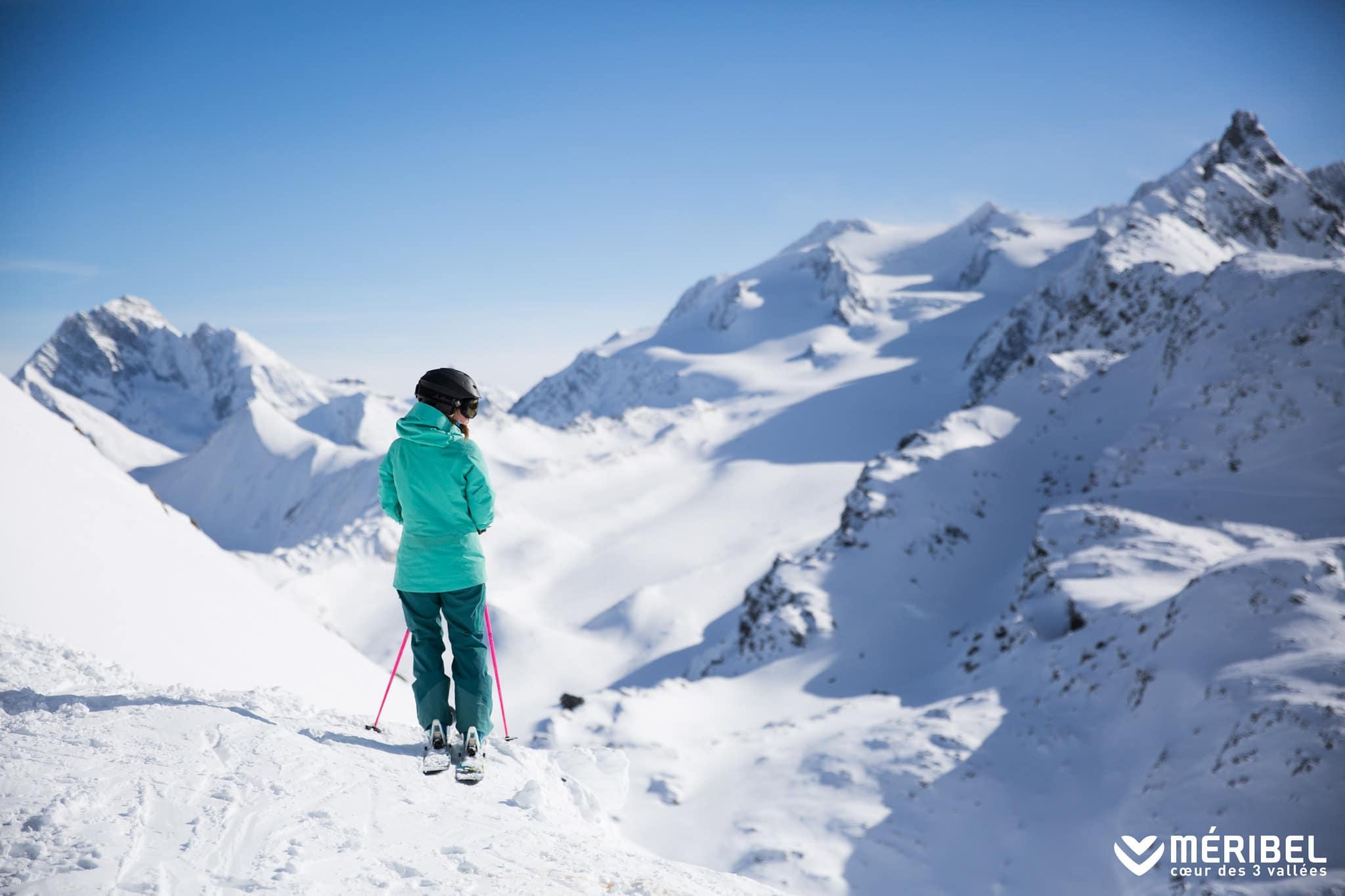 3 vallées méribel ski